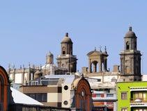Las Palmas. Cathedral in Las Palmas, Gran Canaria, Canary Islands, Spain stock image