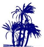 Las palmas agrupan/vector ilustración del vector