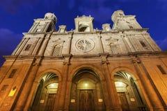 Las Palmas Cathedral of Santa Ana Stock Images