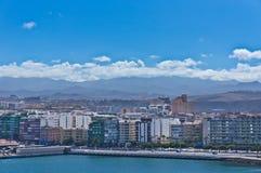 Las Palmas city, Gran Canaria, Spain Stock Images