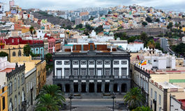 Las Palmas de Gran Canaria Royalty Free Stock Photography