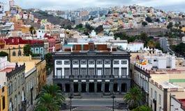Las Palmas de Gran Canaria Fotografía de archivo libre de regalías