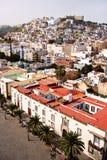 Las Palmas de Gran Canaria. View over the city - Las Palmas de Gran Canaria, the capital city of Gran Canaria royalty free stock photos