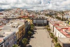 Las Palmas de Gran Canaria. The Canary Islands. Panorama of the city of Las Palmas de Gran Canaria. The Canary Islands. Spain Stock Photos