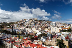 Las Palmas de Gran Canaria. The Canary Islands. Panorama of the city of Las Palmas de Gran Canaria. The Canary Islands. Spain royalty free stock images