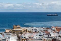 Las Palmas de Gran Canaria. The Canary Islands. Panorama of the city of Las Palmas de Gran Canaria. The Canary Islands. Spain Stock Image