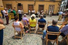 Las Palmas de Gran Canaria, Old town Stock Photo