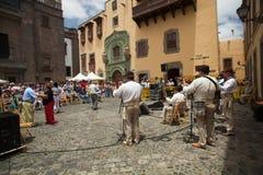 Las Palmas de Gran Canaria, Old town Royalty Free Stock Photography