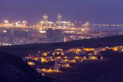 Las Palmas de Gran Canaria panorama Stock Image