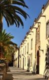 Old street of Las Palmas de Gran canaria. Street of old town in Las Palmas de Gran canaria, Canary islands royalty free stock photography