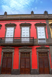 Las Palmas de Gran Canaria Vegueta houses Royalty Free Stock Photos