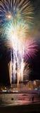 LAS PALMAS - 23 de junio: Celebración de medianoche de Noche de San Juan, Imágenes de archivo libres de regalías