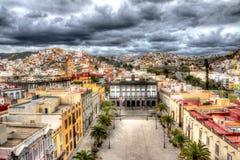 Las Palmas di HDR Fotografia Stock Libera da Diritti