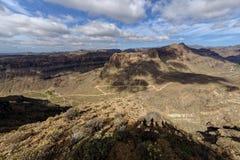 Las Palmas góry zdjęcie stock