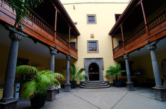 Las Palmas, Gran Canaria, casa de dois pontos Foto de Stock