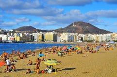 Las Palmas Gran Canaria, Spanien Arkivfoto