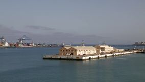 Las Palmas Harbor, Gran Canaria stock video