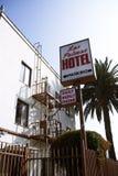 Las Palmas Hotel, near Hollywood in Los Angeles Royalty Free Stock Photography