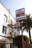 Las Palmas Hotel, near Hollywood in Los Angeles Stock Photography