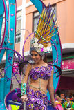 Las Palmas main carnival parade Royalty Free Stock Photos