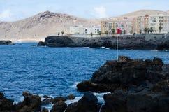 Las Palmas, mamie Canaria Photos libres de droits
