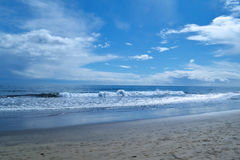 Las Palmas oceanu fala Obrazy Royalty Free