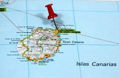 Las Palmas op Gran Canaria in Spanje royalty-vrije stock afbeeldingen