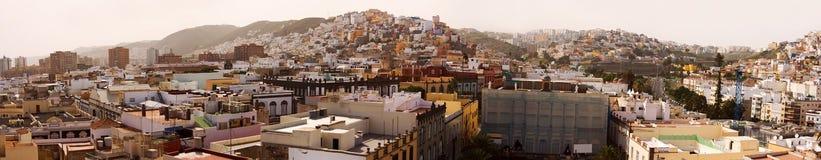 Las Palmas panorama Royalty Free Stock Images