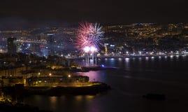 Las Palmas San Juan Arkivbilder