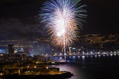 Las Palmas San Juan Royaltyfri Foto
