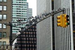 Las palomas del Central Park fotos de archivo