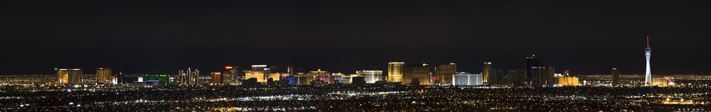 las panorama Vegas zdjęcia stock
