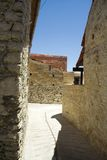 Las paredes antiguas. Imagenes de archivo
