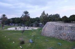 Las paredes antiguas de Nicosia est Imágenes de archivo libres de regalías