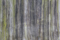 Las paredes de albañilería son sucias del fango que fluye abajo de él backgroung Fotografía de archivo libre de regalías