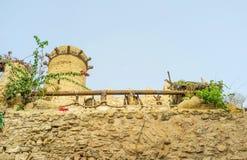 Las paredes de la ciudad de Sousse Foto de archivo