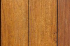 Las paredes de los paneles de madera marrones arreglaron foto de archivo libre de regalías