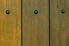 Las paredes de los paneles de madera marrones arreglaron imagenes de archivo