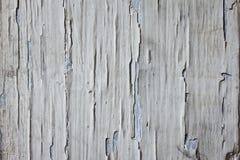 Las paredes de madera, pintura están pelando apagado Fotos de archivo