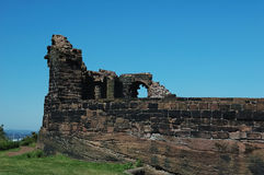 Las paredes del castillo Fotografía de archivo libre de regalías