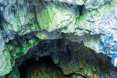 Las paredes en la amistad de la cueva Imagen de archivo libre de regalías