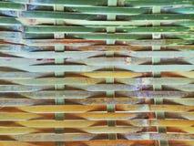 Las paredes se hacen de bambú fotografía de archivo libre de regalías