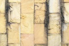 Las paredes son ladrillo foto de archivo libre de regalías