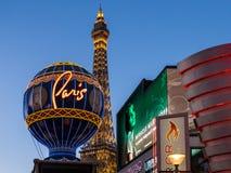 las paris vegas Fotografering för Bildbyråer