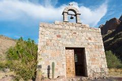 Las Parras Chapel. Near Loreto, Baja California Mexico royalty free stock photography