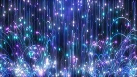 Las partículas azules despiden Hd libre illustration