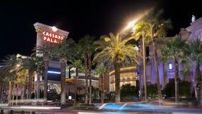 las paska ruch drogowy Vegas zbiory wideo