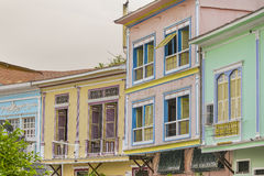 Las Peñas Neighborhood in Guayaquil Ecuador. Las Penas, an emblematic neighborhood of the city of Guayaquil known for its colonial architecture and for being royalty free stock images
