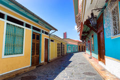 Las Penas Neighborhood in Guayaquil Royalty Free Stock Photo