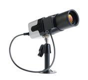 Las pequeñas cámaras de seguridad del CCTV para el indor aislaron Imagen de archivo